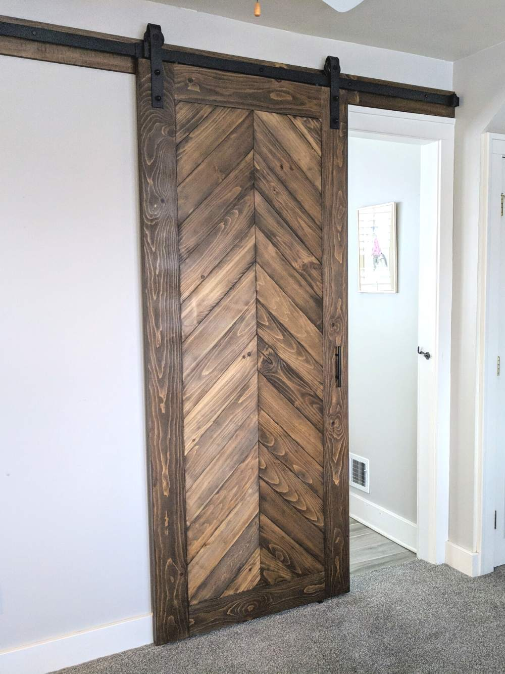 Chevron Barn Door Walston Door Company N Kansas City Mo
