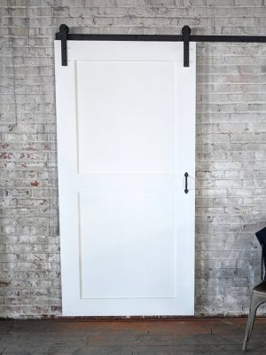 two panel barn door